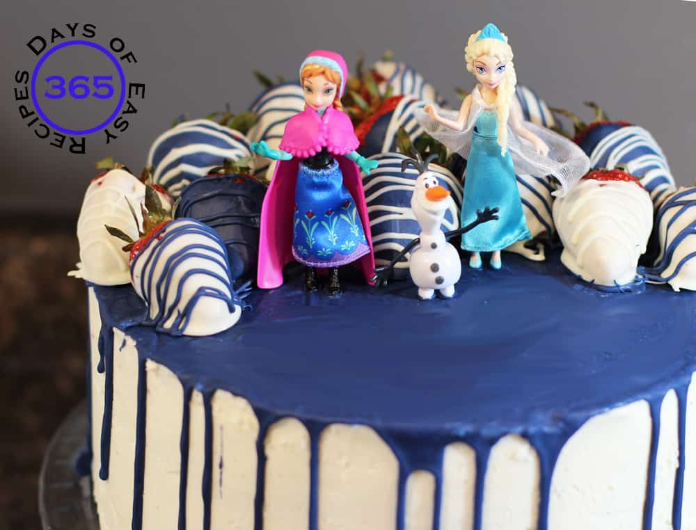 Party Inspiration Disneys Frozen Birthday Cake with Olaf Anna and