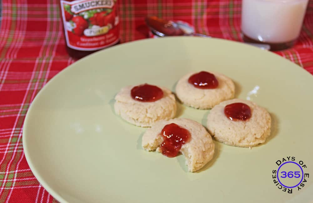 Thimble Cookies Aka Birds Nests 12 Days Of Easy Christmas